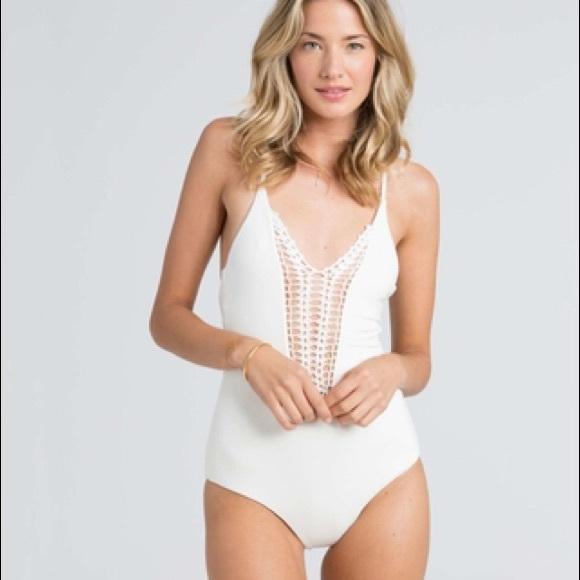6ef33ad4718f0 Billabong Other - Billabong Hippie Hooray one piece white swimsuit